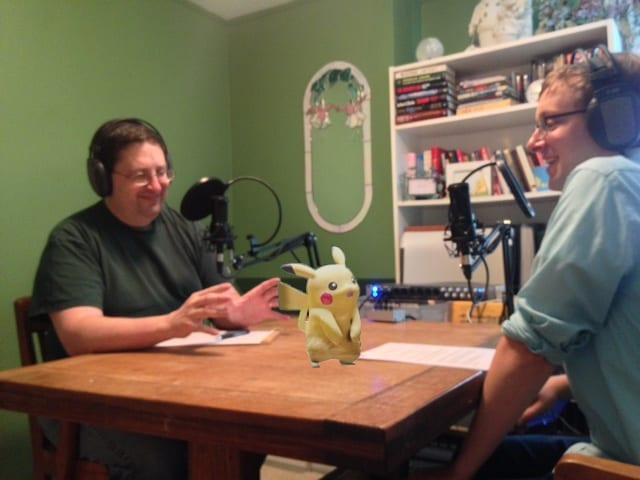 pokemon go pikachu podcast paul steve